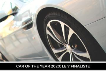Premio Auto dell'Anno, le sette finaliste 2020