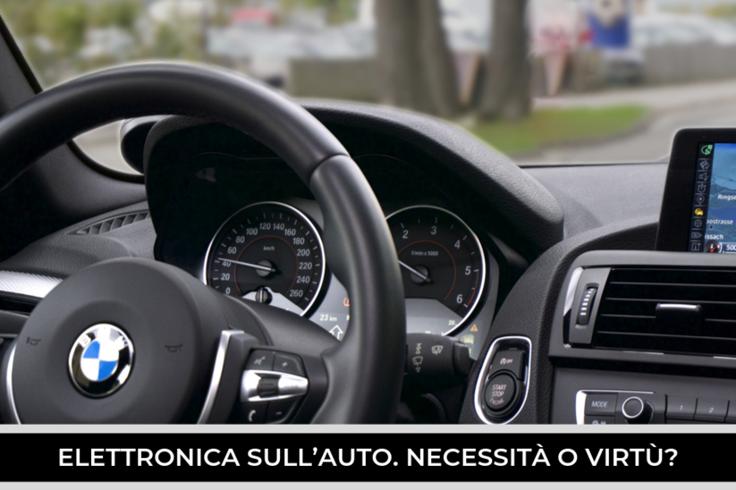 Quanto è importante l'elettronica nell'auto moderna